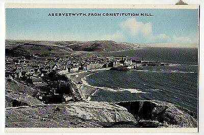 Aberystwyth, From Constitution Hill ~ An Old Postcard (62J69)