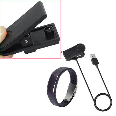 UK New 1M USB Data Charger USB Charging Clip Cable For Polar Loop1 Loop 2