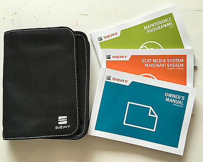 Seat Alhambra Owners Manual Handbook Pack With Wallet +Service 2012-2016 Ref3708