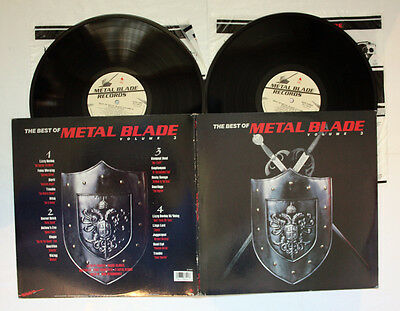 VARIOUS The Best Of Metal Blade Volume 3 COMPILATION 2 LP