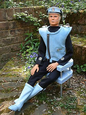 """Gerry Anderson Thunderbirds Captain Blue Full Scale Puppet KIT 23"""" Tall"""