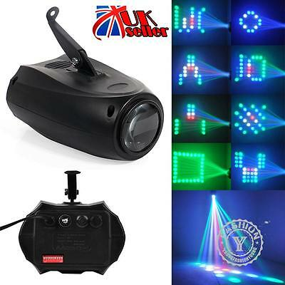 Disco DJ Club Party Bar Music Active RGBW LED Lights Laser Stage Effect Lighting