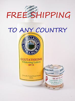 St. Dalfour Whitening Lotion and St Dalfour Excel Whitening Cream