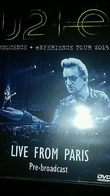 U2 Innocence And Experience Tour 2015 Live From Paris Dvd.