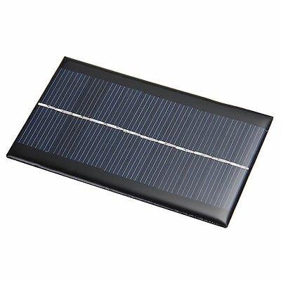 6V 1W Solar Panel Solar System Module For Light Battery Cell Phone Chargers DE