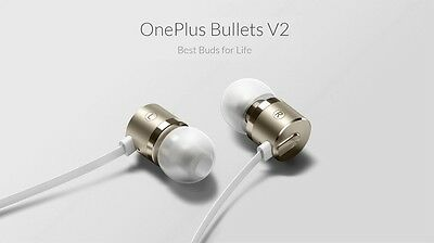 Genuine OnePlus Bullets V2 Headset  Piston Earbud Earphone For Oneplus 3 2 X One