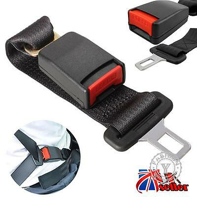 36cm Adjustable Auto Car Seat Belt Extension Extender Safety Support Buckles Hot
