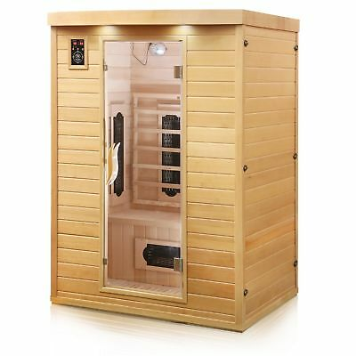 sauna w rmekabine infrarot kabine kj infra therm eur 320 00 picclick de. Black Bedroom Furniture Sets. Home Design Ideas