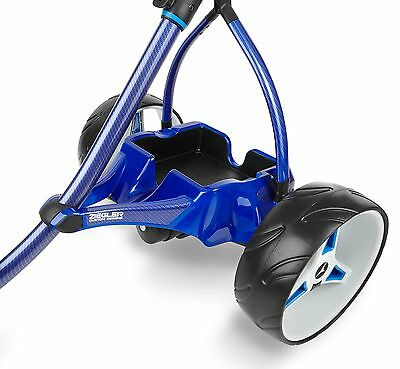 2016 Motocaddy ZIEGLER S3PRO LITHIUM Pearl Blue Carbon Electric Golf Trolley
