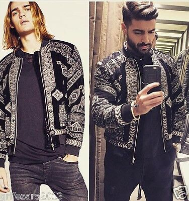 55d182586 ZARA MAN BOMBER Jacket With Metallic Details M Ref. 6895/300 Aw16 Bloggers