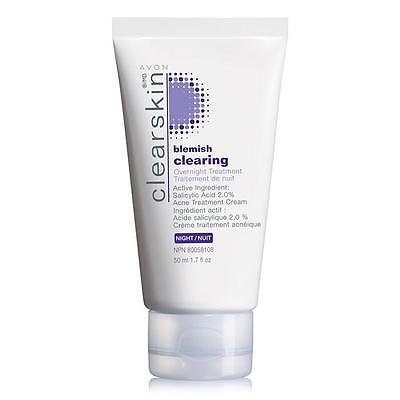 Avon Clearskin Blemish Clearing Night Anti-Acne Therapy Overnight Treatment 50ml