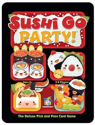 Sushi Go Party! The Deluxe Pick and Pass Card Game by Gamewright