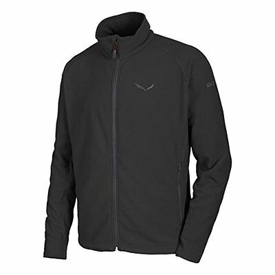 Salewa Rainbow 3 Pl M Fz Felpa - Nero (Black Out) - 54/2XL