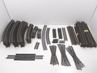 Enormous Lot French HO Assorted Track - 121 pieces