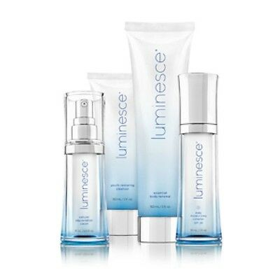 Jeunesse US Luminesce Cellular Rejuvenation Serum Complex Cleanser Body Package