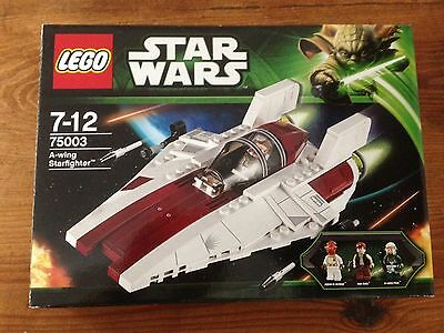 Lego 75003 Star Wars A wing starfighter , quasi neuf