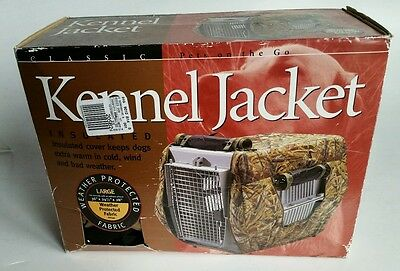 Classic Accessories Dog Kennel Jacket Crate Cover Sz Large Tan NEW