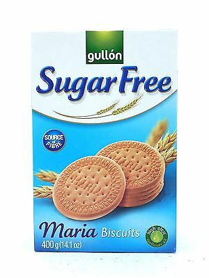 Gullon Sugar Free Maria Biscuits 400g (Box of 10 x 400g Packets )