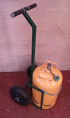 Gas Bottle Trolley. Ideal for Domestic Calor Type Gas Bottles.