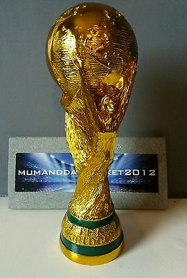 RARE full scale REPLICA WORLD CUP TROPHY top quality football trophy