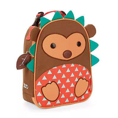 NEW Skip Hop Zoo Lunchie Hedgehog Insulated Lunch Bag for Children Ages 3+