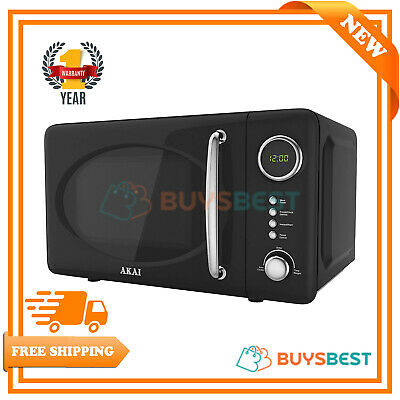 Akai Pull Handle Digital Microwave, 700 W, 20 L - Black - A24006