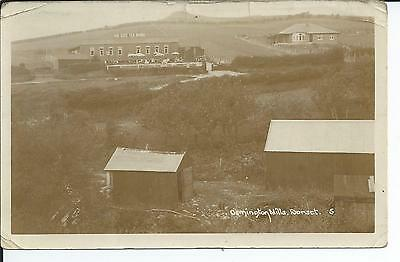 4th Real photo postcard of Osmington mills, Weymouth Dorset  ave condition.