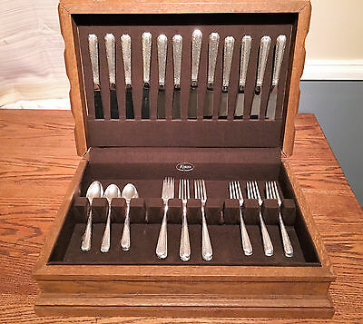 Candlelight By Towle Sterling Silver Flatware Service For 12 (48 Piece) W/ Case
