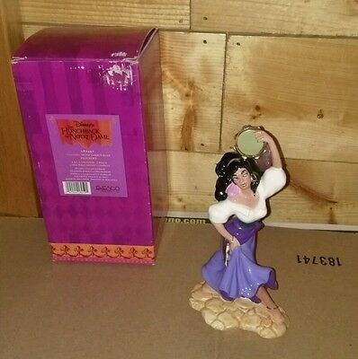 ENESCO Disney's Hunchback of Notre Dame Esmeralda Ceramic Figure