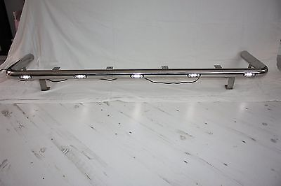 Stainless Steel Top Light Bar Daf Cf Day Cab + 7 Led