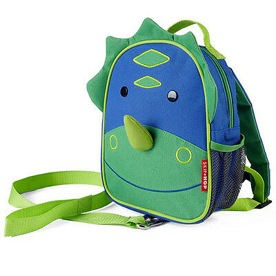 NEW Skip Hop ZooLet Dinosaur Mini Backpack with Reins Zoo Let Ages 12months+