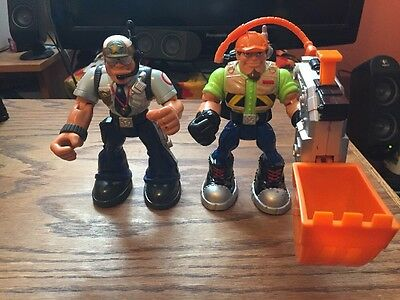 "Fisher Price, Rescue Heroes 6"" Action Figures"