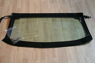 MGF MGTF cabriolet hood plastic rear window vybak screen replacement BRISTOL
