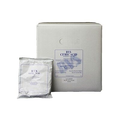 CITRIC ACID Mild Organic Increases Medicine Solubility Waterline Cleaner 1lb.