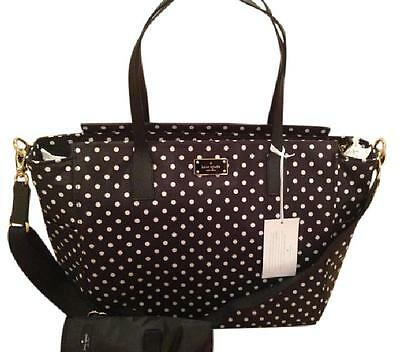Nwt Kate Spade Diamond Dot Taden Blake Avenue Baby Bag