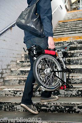 The Original Brompton carrying handle by Off yer bike