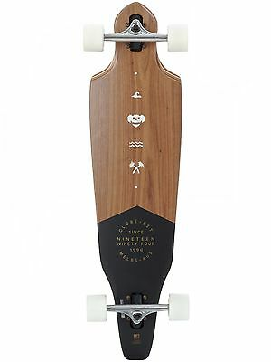 Globe Walnut 2017 The Cutler - 36.5 Inches Drop Through Longboard Complete