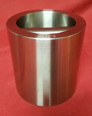 TROEMNER? Ohaus? Stainless Steel Scale Calibration Weight, Metric, 10kg      C
