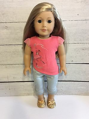 American Girl Doll GOTY 2014 Isabelle Palmer -Beautiful Long Blonde Hair