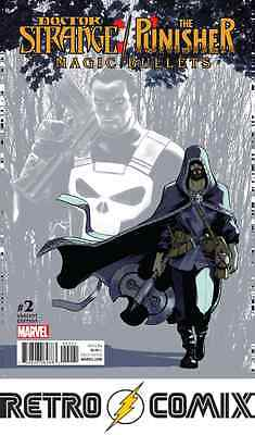 Marvel Doctor Strange Punisher  Magic Bullets #2 Lopez Variant Bagged & Boarded