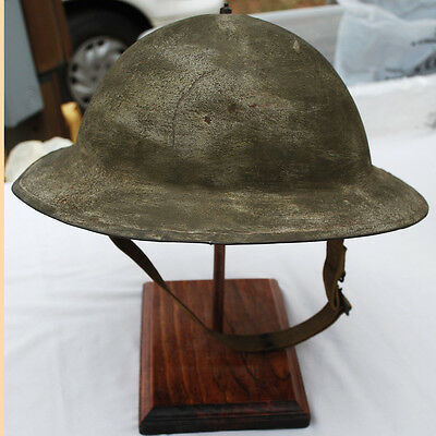 WWII M-1917 A-1 Helmet