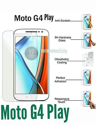 100% Real Tempered Glass Temper Glass Protector for Motorola Moto G4 PLAY
