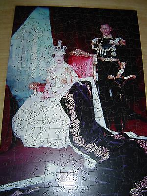 """A Collectors Wentworth Wooden Jigsaw Puzzle- """"Coronation 1953"""""""