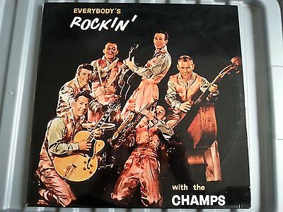 Vinyl - The Champs - Everybody's Rockin' - Latin Flavoured - Lp Record