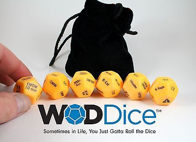 WOD Dice for CrossFit Training Dice Functional Fitness Accessories WODDice