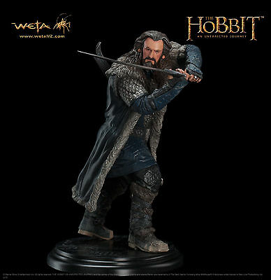 THE HOBBIT AN UNEXPECTED THORIN OAKENSHIELD WETA CAVE SOLD OUT by WETA Last few