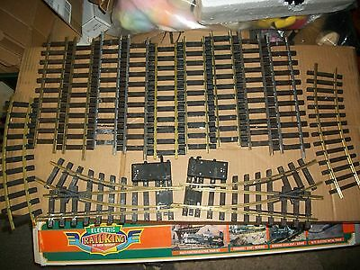 LGB Lehmann LOT G Scale #19902  EXPANSION TRAIN TRACK SWITCH SET-2 SWITCHES +,#1