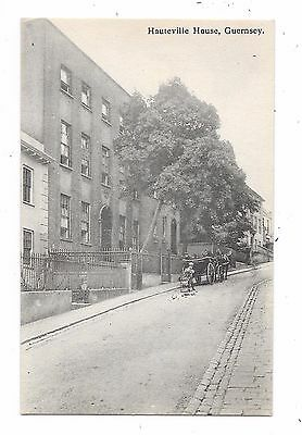 Nice Printed Postcard Of Hauteville House Guernsey