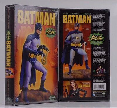 1966 Batman TV series Movie batman Figure 1:8 Model Set Kit Moebius 951