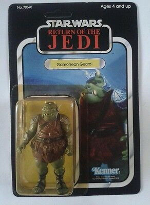 Star Wars Return Of The Jedi Gamorrean Guard Figure Vintage Moc Kenner Original